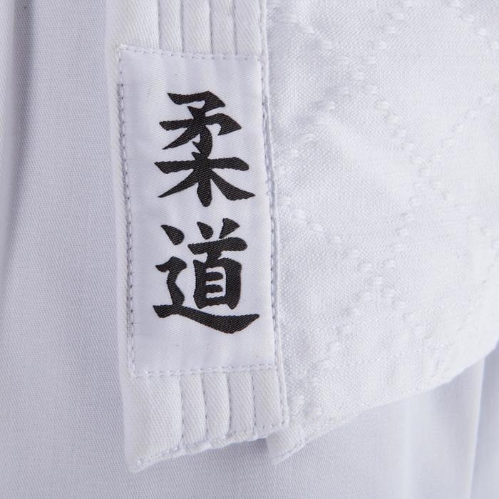 Judoanzug 100 Aikido Erwachsene weiß
