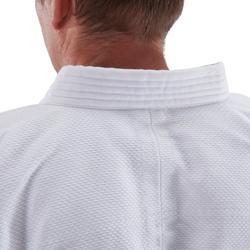 成人款柔道合氣道標準道服100- 白色