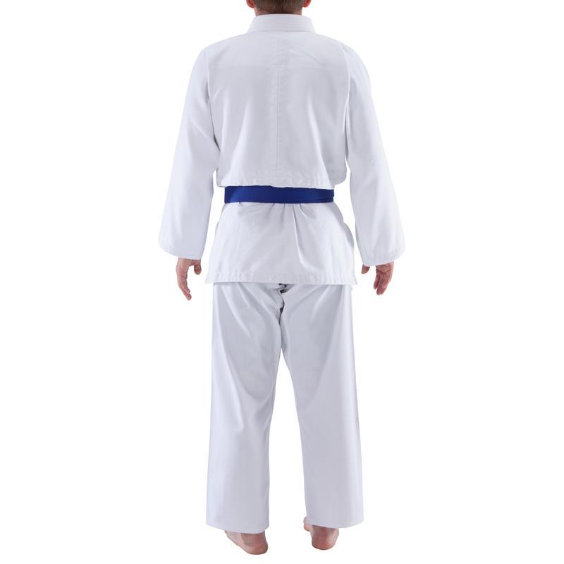 ชุดไอคิโด/ยูโดสำหรับผู้ใหญ่รุ่น 500 (สีขาว)