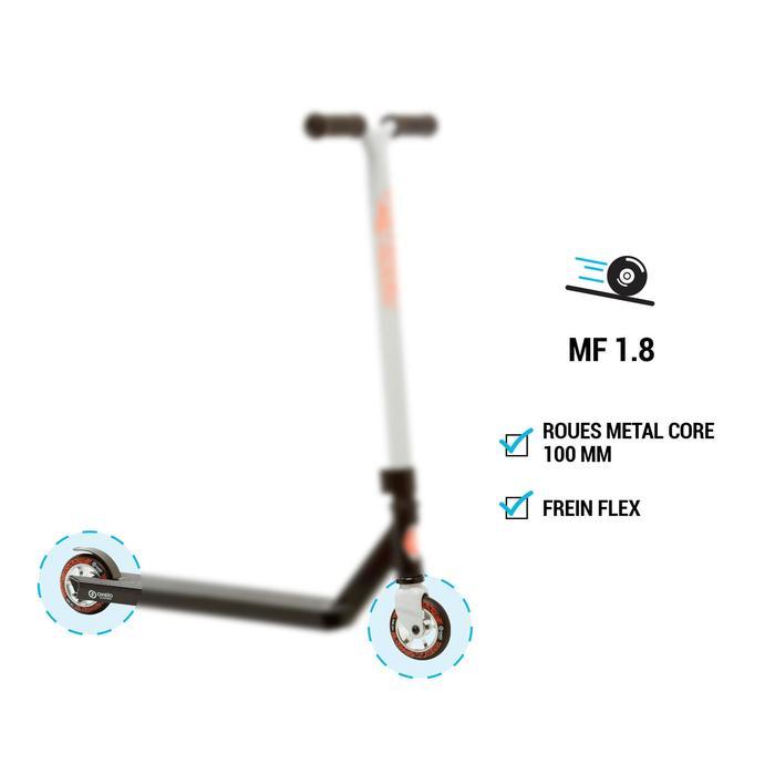 Stunt-Scooter Roller MF1.8 Freestyle türkis