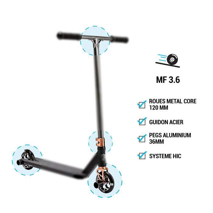 Scooter Freestyle MF3.6 V5 neochrom