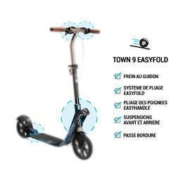 City-Roller Scooter Town 9 EF V2 Erwachsene petrolblau