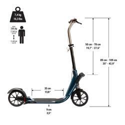 City-Roller Scooter Town 9 EF V2 Erwachsene Chlorophyl