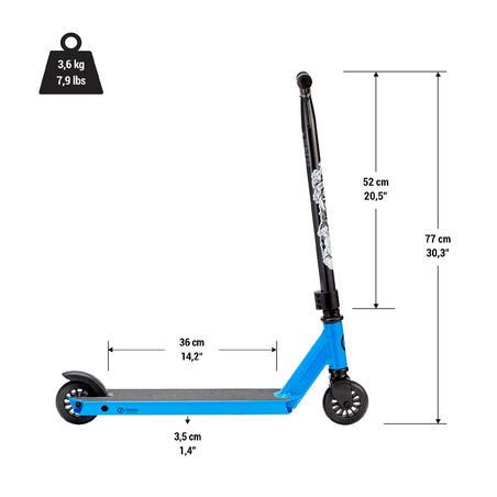Brīvā stila skrejritenis MF One 2018, zils