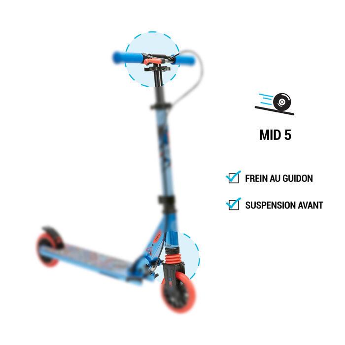 Kinder-Scooter Scooter Mid5 Federung Lenkerbremse Indianer-Motiv