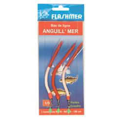 Anguillons 3 hameçons N°1/0 pêche en mer