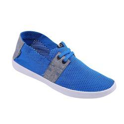 男款鞋AREETA-電光藍灰色