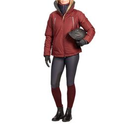 Winter-Reithose Kipwarm wasserdicht und atmungsaktiv Damen marineblau