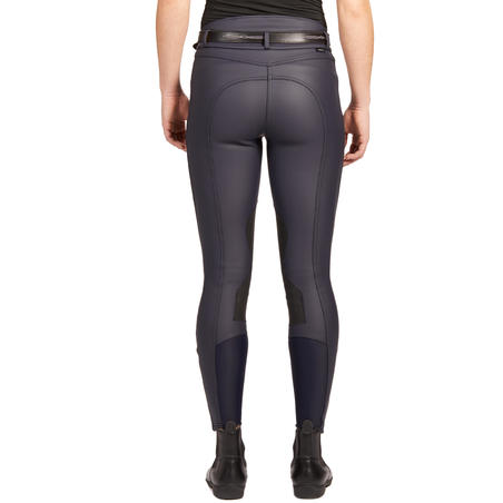 Kipwarm Women's Waterproof Warm and Breathable Horseback Riding Jodhpurs - Navy
