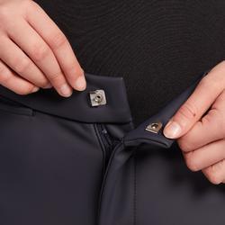 Pantalón Equitación Fouganza 500 Kipwarm Junior Azul Marino Cálido Impermeable