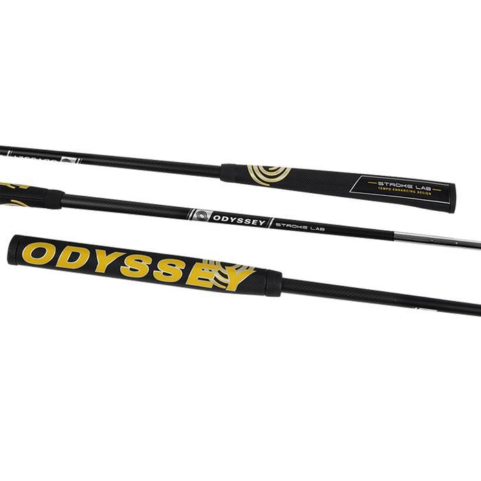 Golfputter Odyssey Stroke Lab 2 ballen Fangs Pistol rechtshandig