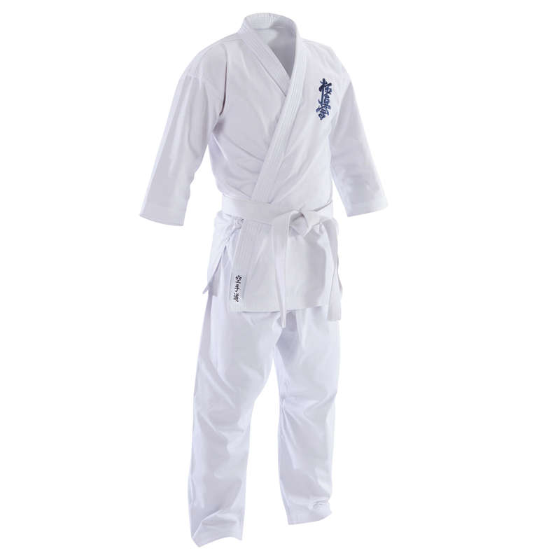 Karate Sporty walki - Kimono do karate Kyokushin 100 OUTSHOCK - Karate