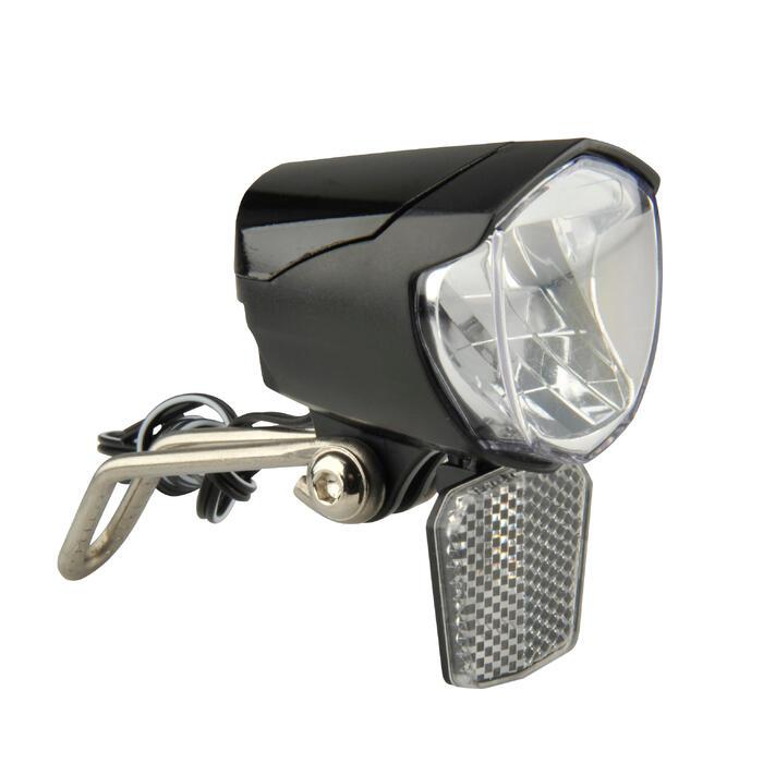 Fahrradbeleuchtung Frontlicht LED 70 Lux Dynamobtetrieb