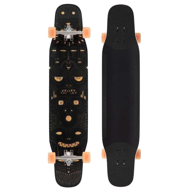 Longboardok és kiegészítők Gördeszka waveboard longboard - Longboard Dance 500, matt  OXELO - Gördeszka waveboard longboard