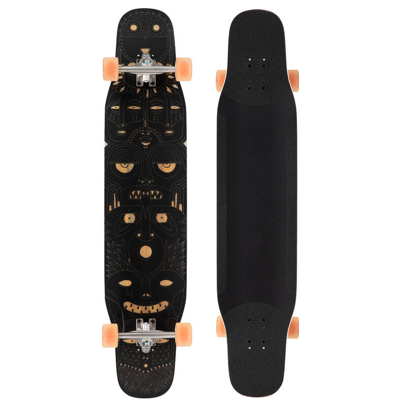 LONGBOARDYSK8 A CRUISERY Skateboarding, longboarding, waveboarding - LONGBOARD DANCE 500 TOTEM MAT OXELO - Vybavení na longboard a cruiser