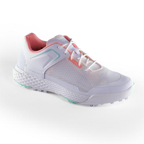 CHAUSSURES GOLF FEMME GRIP DRY BLANCHES