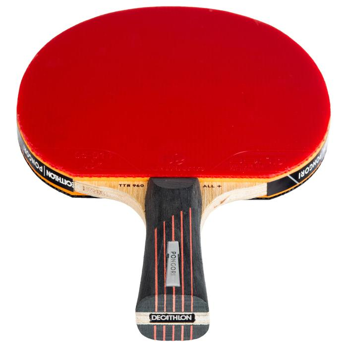 TTR 960 ALL+ 6* Club Table Tennis Bat + Cover
