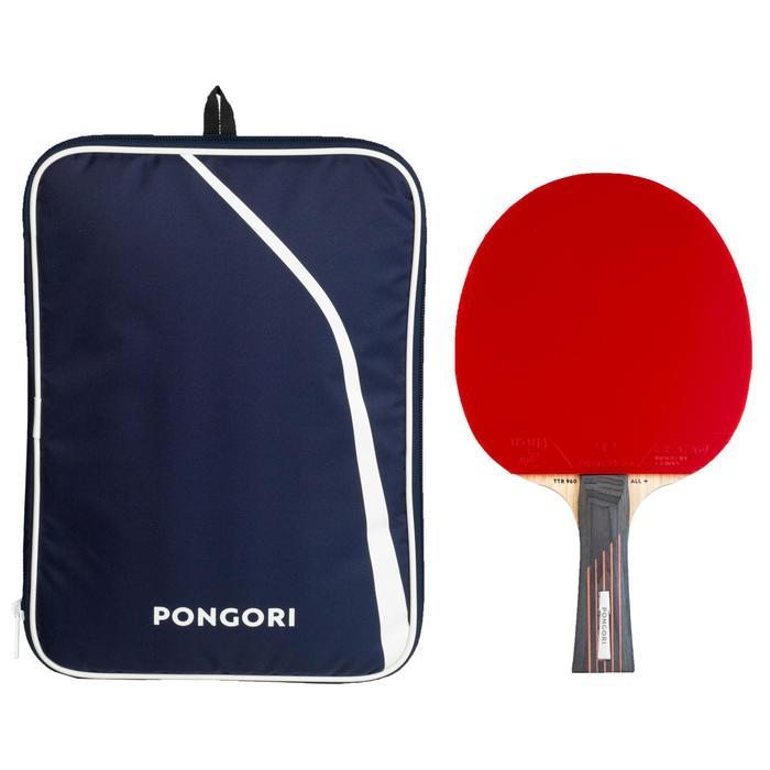 俱樂部用乒乓球拍+球拍套TTR 960 ALL+ 6*
