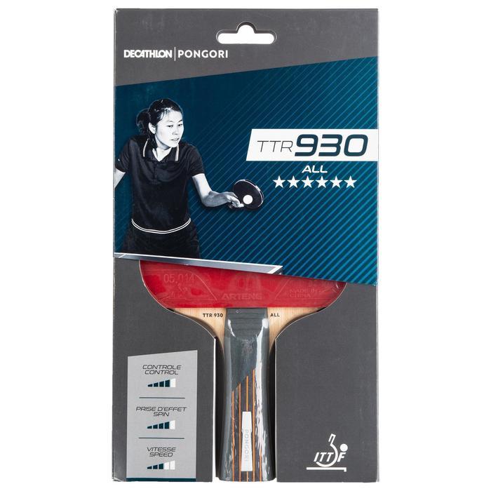 Tafeltennisbat voor clubs TTR 930 ALL 6*