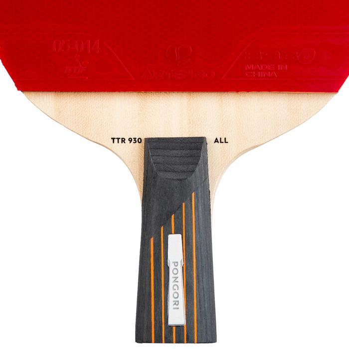 TTR 930 ALL 6* C-PEN Club Table Tennis Bat + Cover