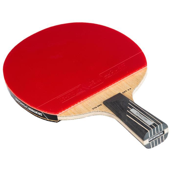 俱樂部用乒乓球拍+球拍套TTR 990 OFF++ SH 6*