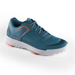 WOMEN'S GOLF SHOES DRY GRIP TURQUOISE