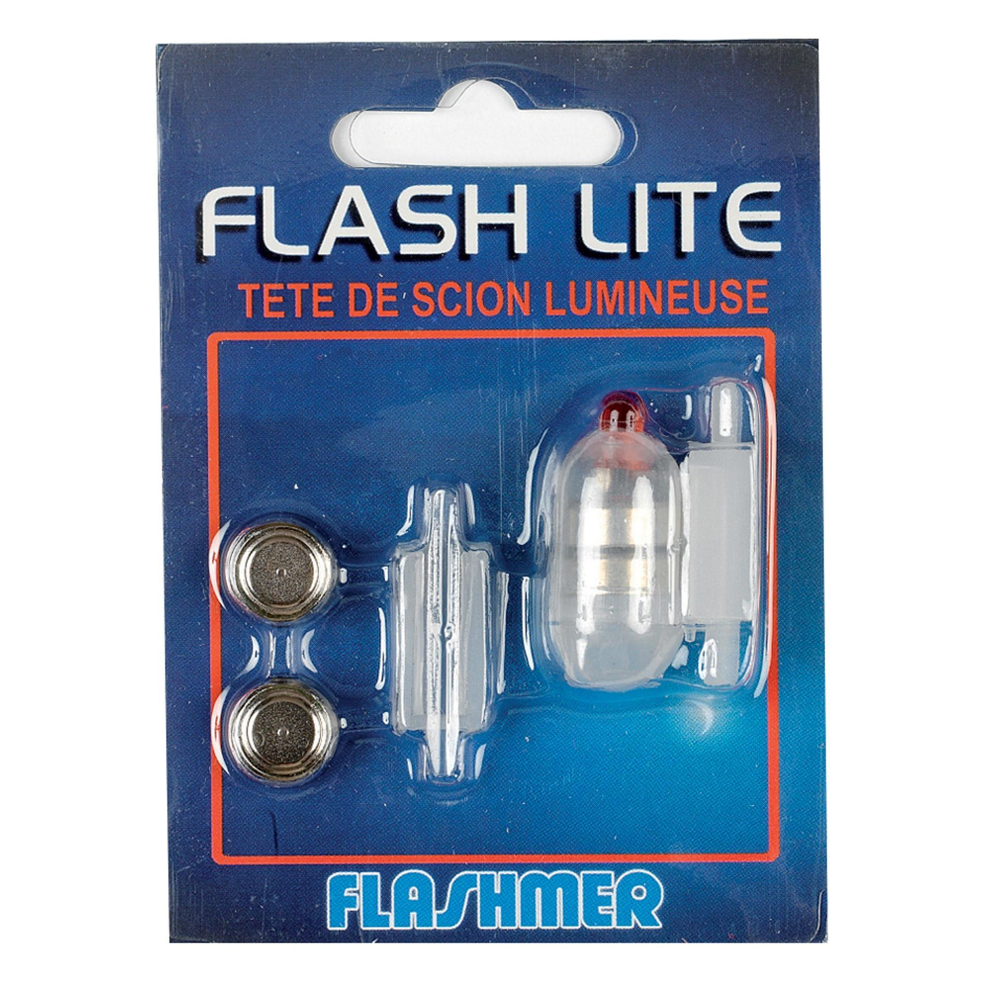 Flashmer Dobbers/Lijnmontages voor hengelsport in zee Flash Lite rood
