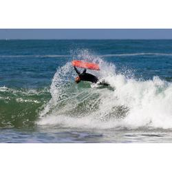 Leash spiralé bodyboard 900 biceps Noir