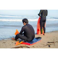 Bodyboard vinnen RIP asymmetrisch oranje/zwart