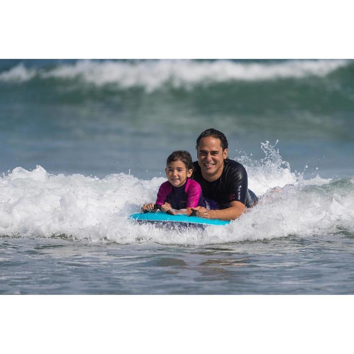 Bodyboard Tandem Weezmi Kinder/Erwachsene mit Griffen blau