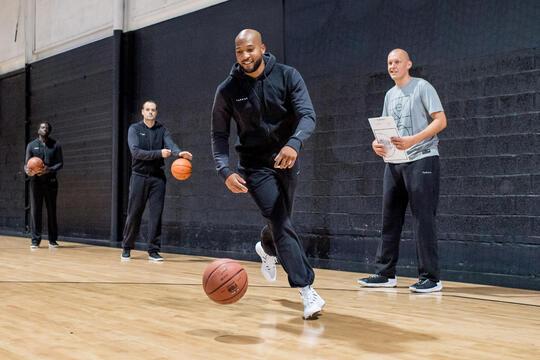 reprendre le basket