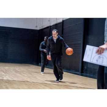 CHAUSSURE DE BASKETBALL TIGE HAUTE HOMME/FEMME DÉBUTANT PROTECT 100 NOIR