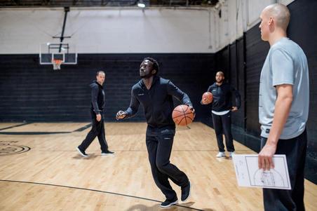 P100 Basketball Bottoms Black - Men's
