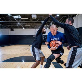 Funktionsshorts Protection Basketball Herren Fortgeschrittene schwarz