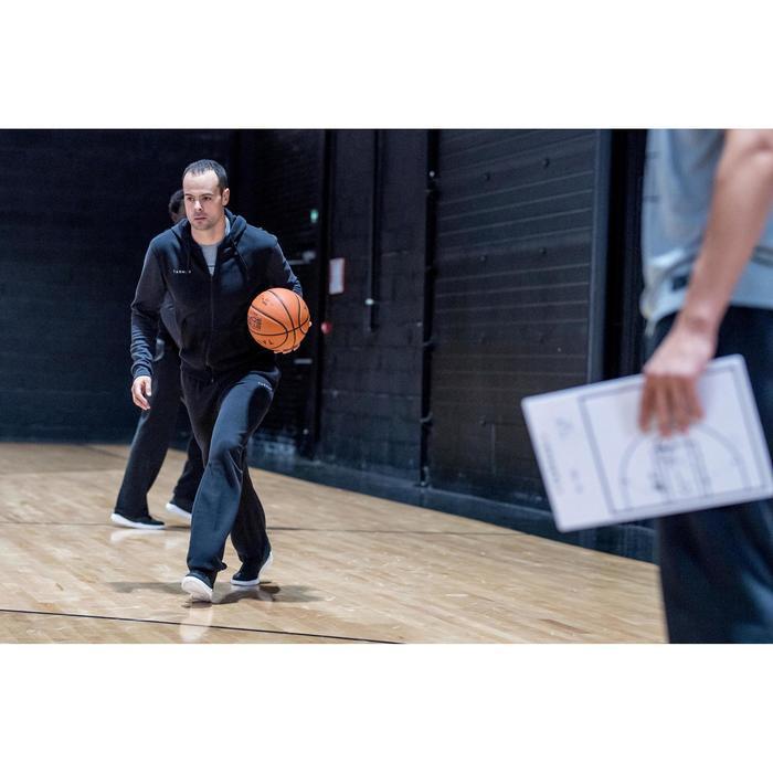 CHAUSSURE DE BASKETBALL TIGE HAUTE HOMME/FEMME DEBUTANT PROTECT 100 NOIR