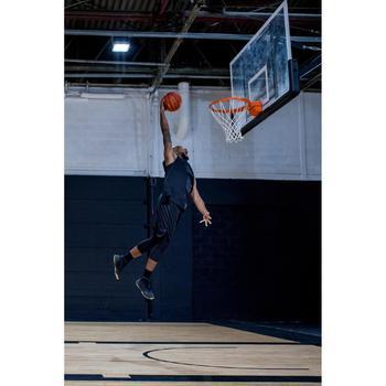 Basketball 3/4 Leggings Base Layer for Intermediate Players - Black