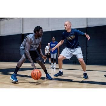 Basketbalshort voor heren SH500 gevorderden grijs