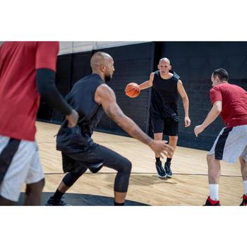 Basketballschuhe Shield 500 Damen/Herren Fortgeschrittene schwarz/weiß