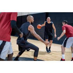 Basketballschuhe Shield 500 Herren schwarz/weiß