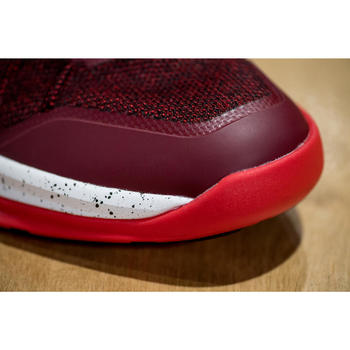 Basketbalschoenen Shield 500 rood/wit (heren)