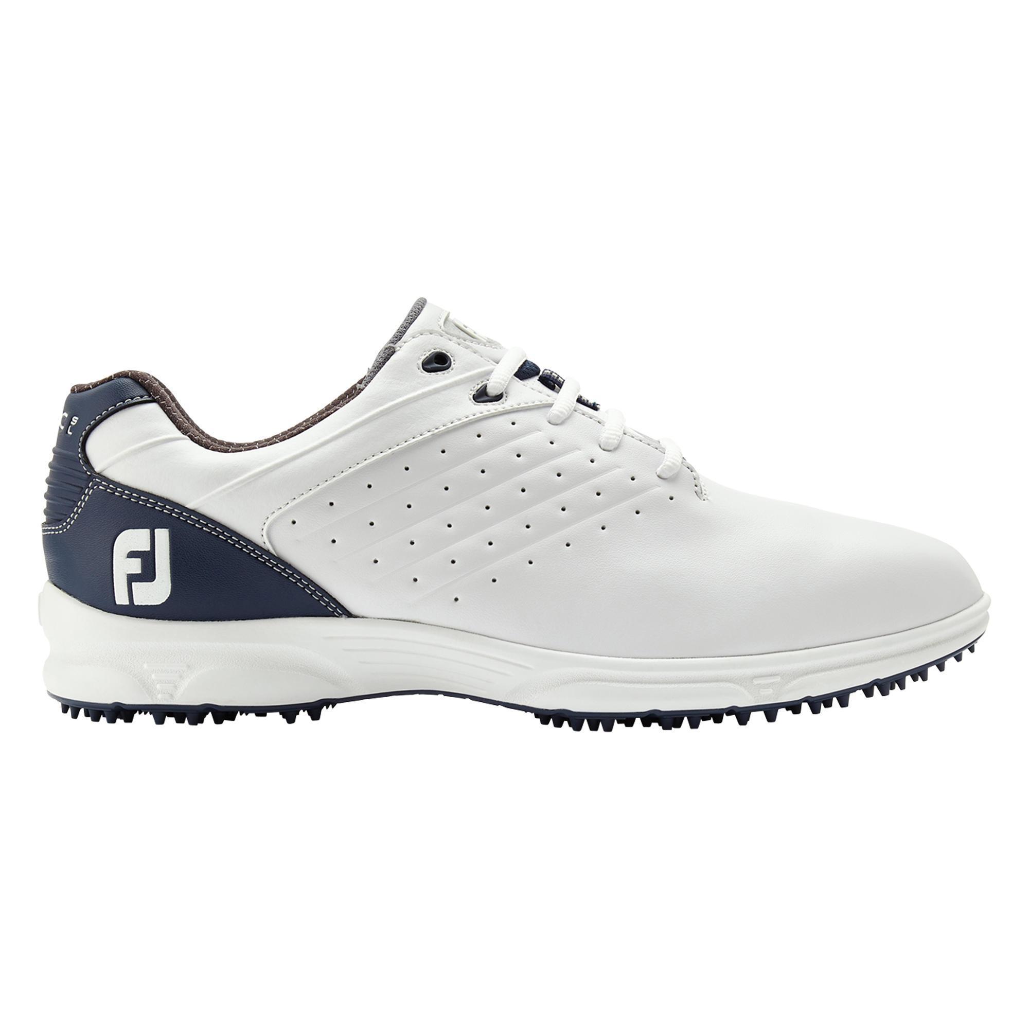 Footjoy Golfschoenen voor heren Arc SL wit/marineblauw