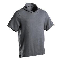 Hoodieshirt voor boksen 100 grijs