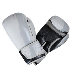 300 Beginner Male/Female Boxing Training Gloves - Beige