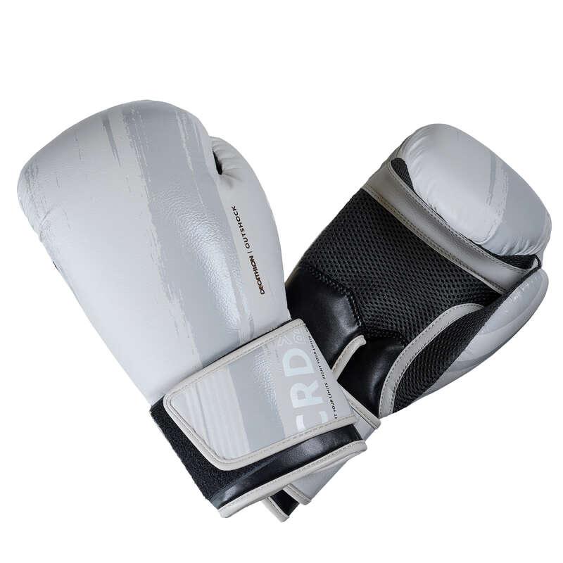 BOXING GLOVES - 300 Boxing Gloves - Beige OUTSHOCK