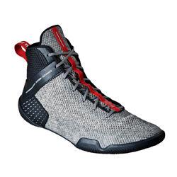 Zapatillas de boxeo inglés Outshock 500 ligeras y flexibles