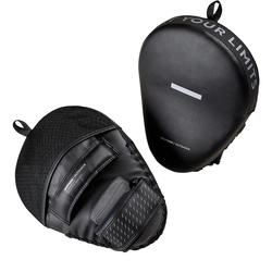 500 Curved Punch Mitts with Fastener Strap - Black