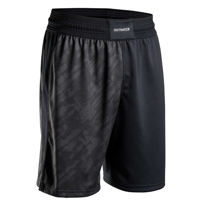 BOXING APPARELS Clothing - 500 Boxing Shorts - Black OUTSHOCK - By Sport