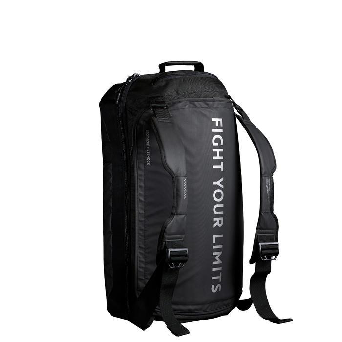 TAS VOOR VECHTSPORT COMBAT BAG 900 65 liter zwart