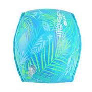 "Adults' (> 60 kg) swimming pool armbands Green/Blue ""FOLIAGE"