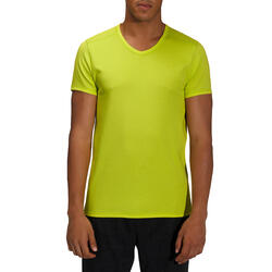 Heren T-shirt voor gym en pilates, slim fit - 164325